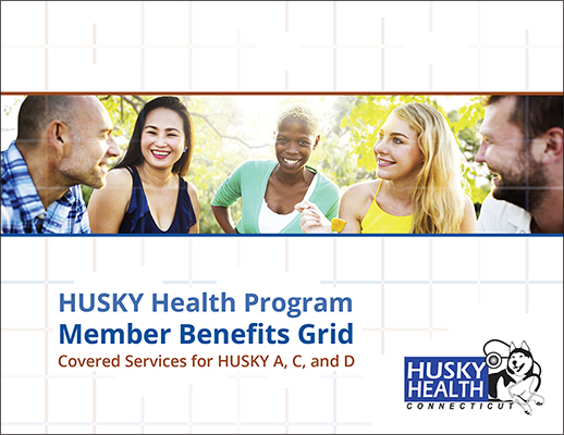 download Member Benefits – Covered Services for HUSKY A, C and D pdf