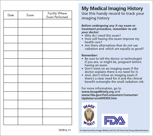 Download The Medical Imaging History Card Pdf